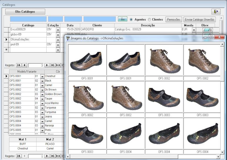 Dados Técnico-Comerciais - Catálogo
